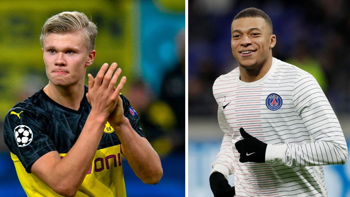 Madrid see it easier to sign Haaland before Mbappé