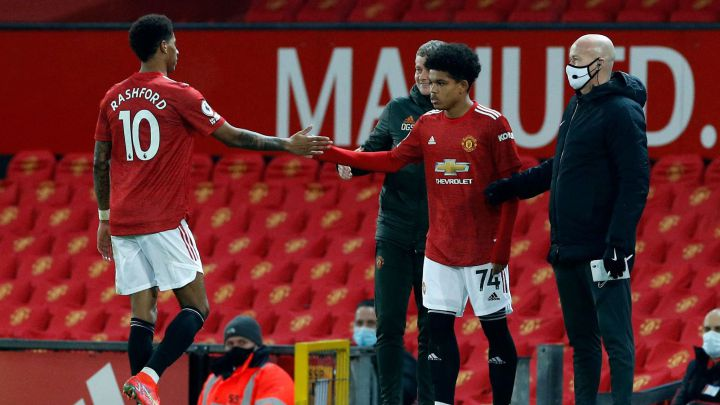El Manchester United enseña su diamante: Shola Shoretire