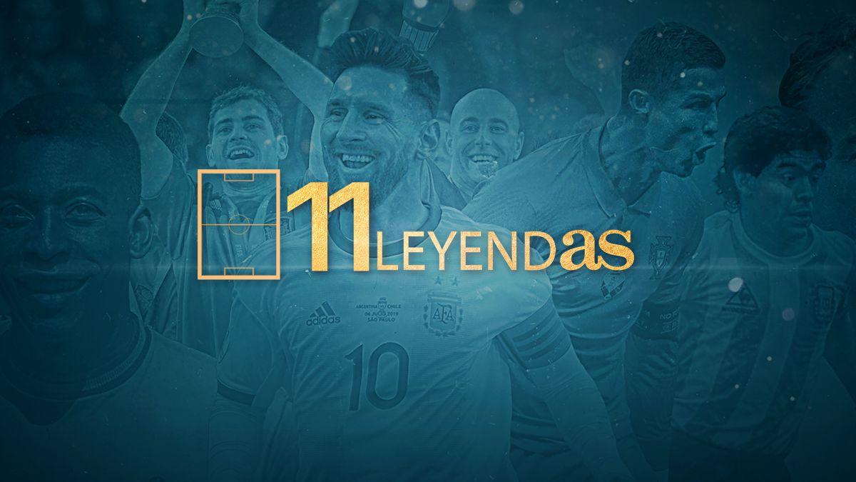 11 LeyendAS: el mejor once de la historia del fútbol