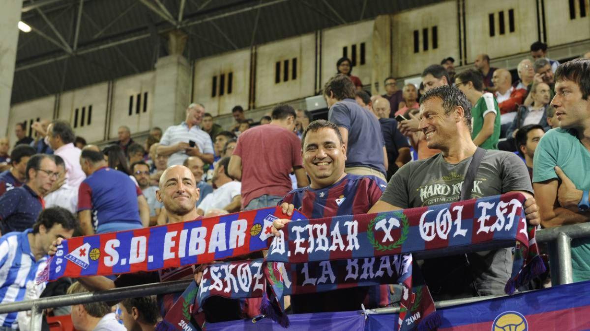 Eskozia La Brava no quiere abandonar al Eibar