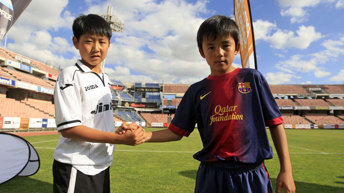 Kubo y Kang-in, estrellas en sus países y rivales desde niños