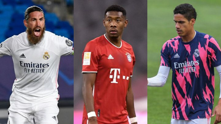 Futures of Ramos, Alaba and Varane are all intertwined