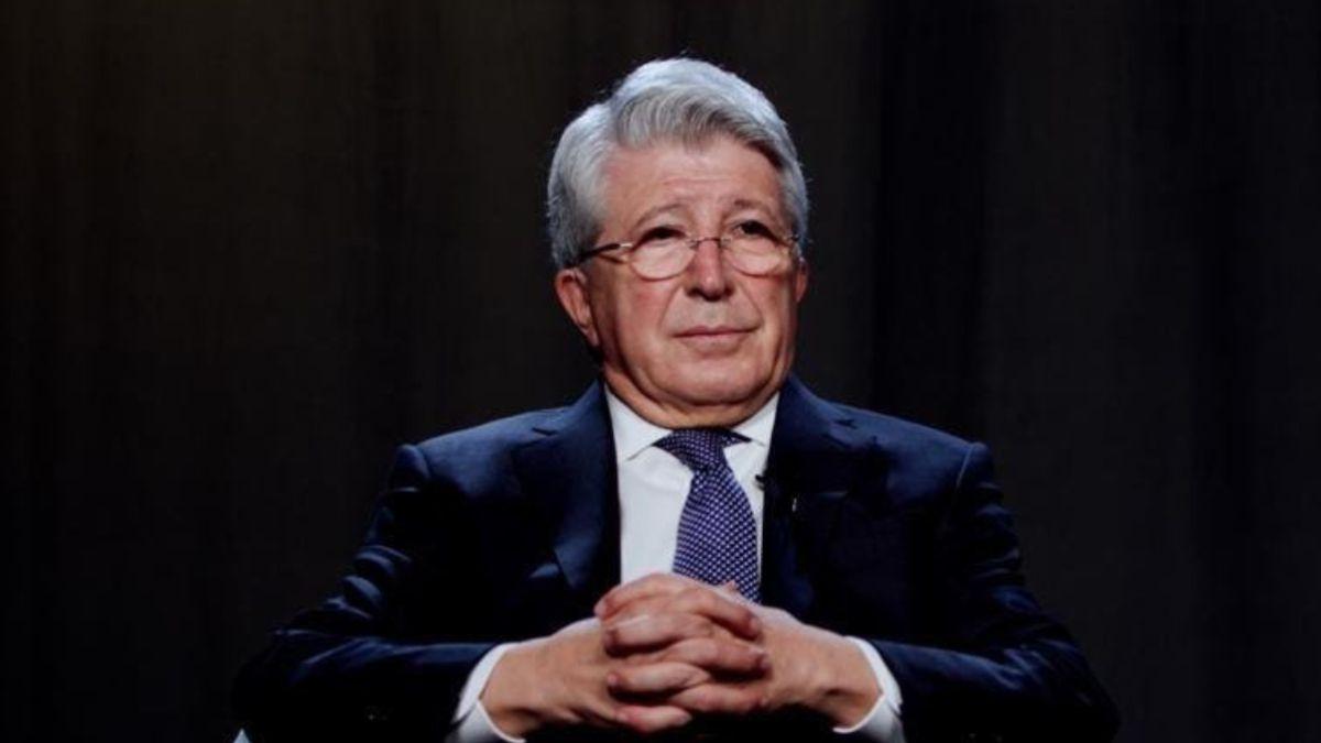 Enrique Cerezo celebrates years as leader of LaLiga