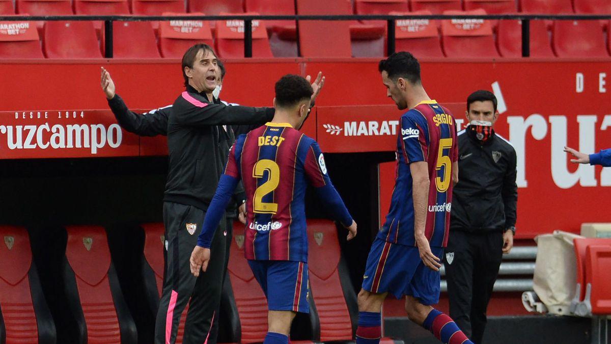 El Sevilla de Lopetegui sólo ha caído una vez por más de dos goles como visitante
