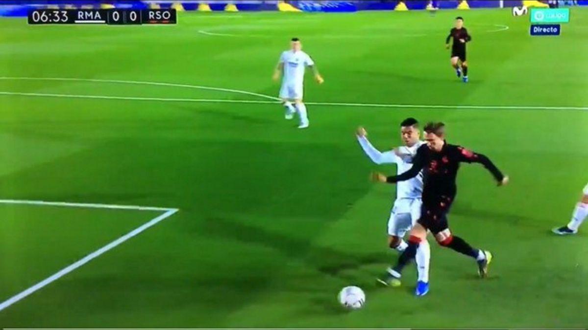 Las polémicas del Madrid-Real: penalti de Casemiro, mano del brasileño...