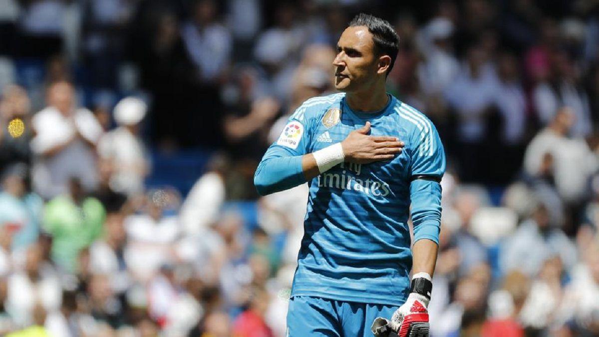 """Keylor Navas: """"Una parte del Madrid no creía en mí"""""""