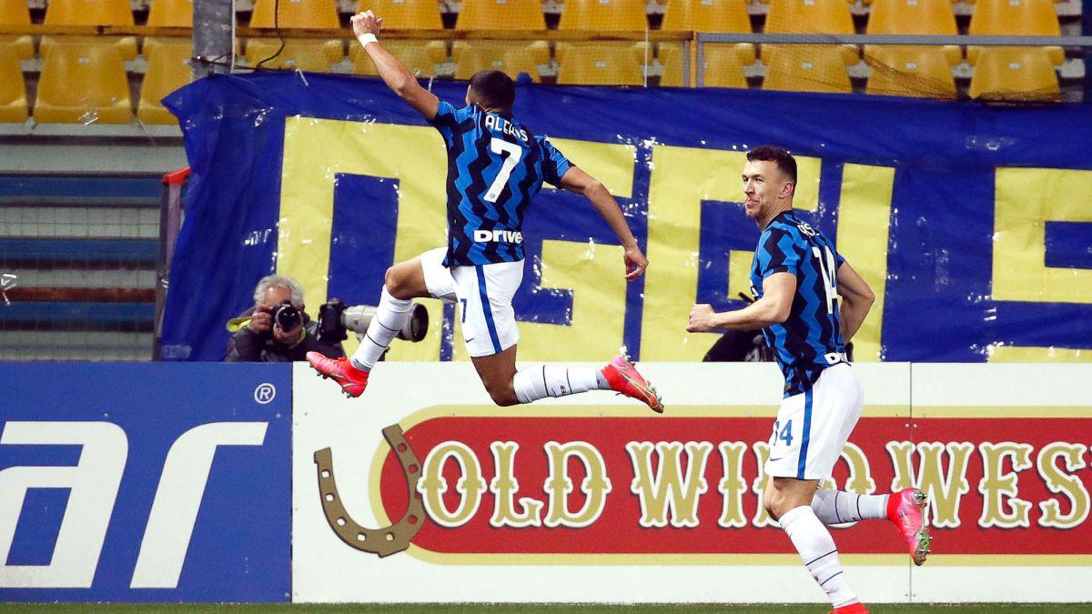 El Inter se escapa en la Serie A