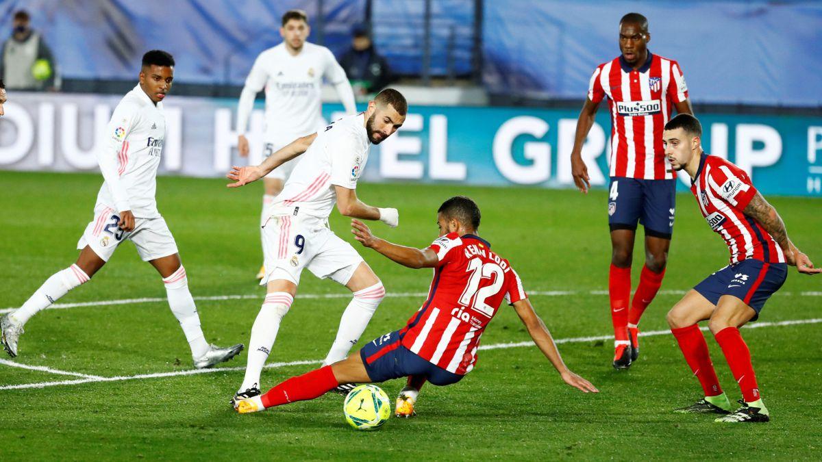 Derbi Madrileño: lesionados y sancionados para el Atlético - Real Madrid