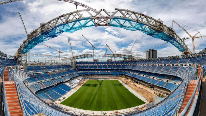 The New Bernabéu starts preparing for fans' return