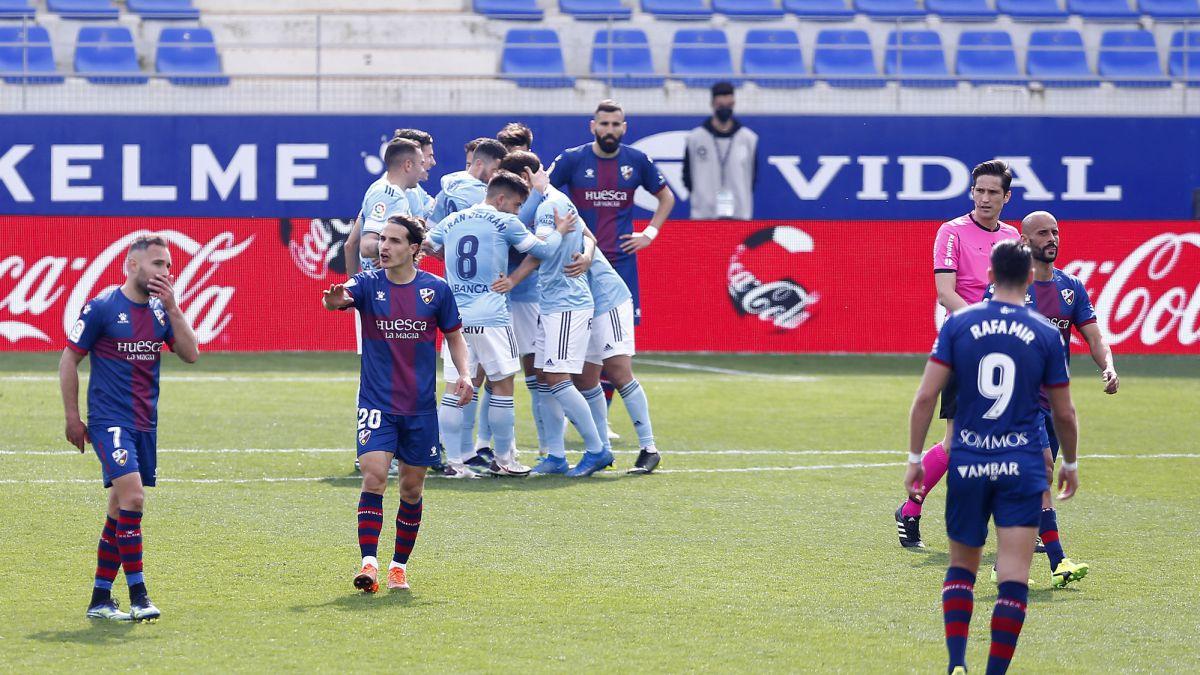 Huesca 3 - Celta 4: resumen y goles de LaLiga Santander - AS.com