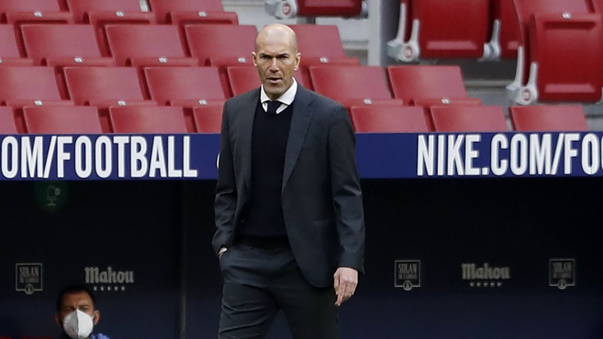 """Zidane: """"Es un punto, estamos vivos y seguimos peleando"""""""
