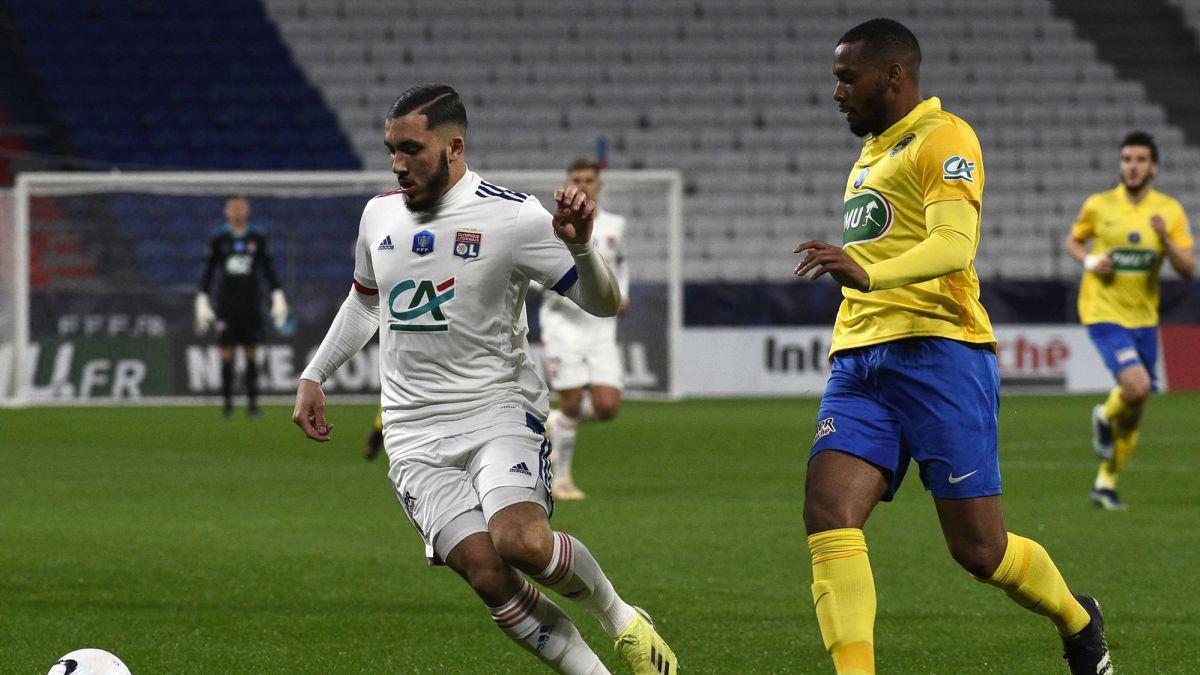 Cherki pide sitio en Lyon - AS.com