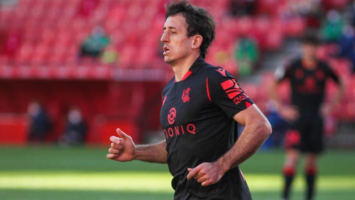 Oyarzabal llegará a la final de Copa con solo un entrenamiento