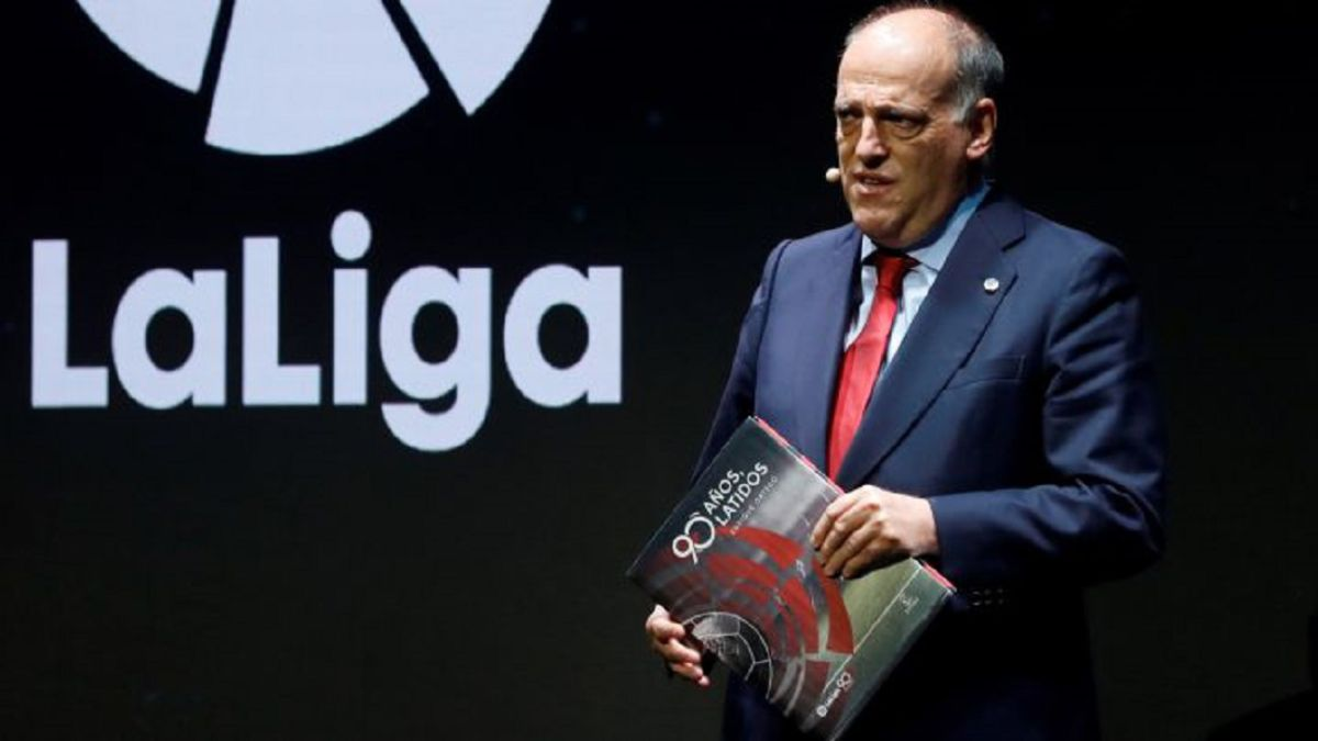 The FEF asks to disqualify Javier Tebas