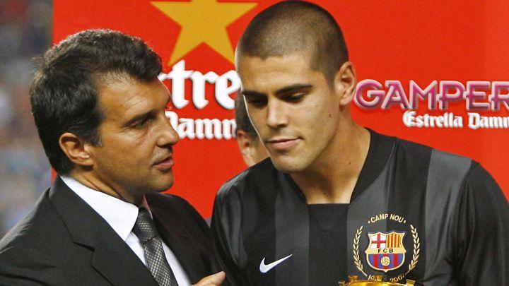 Valdés rompe con Laporta