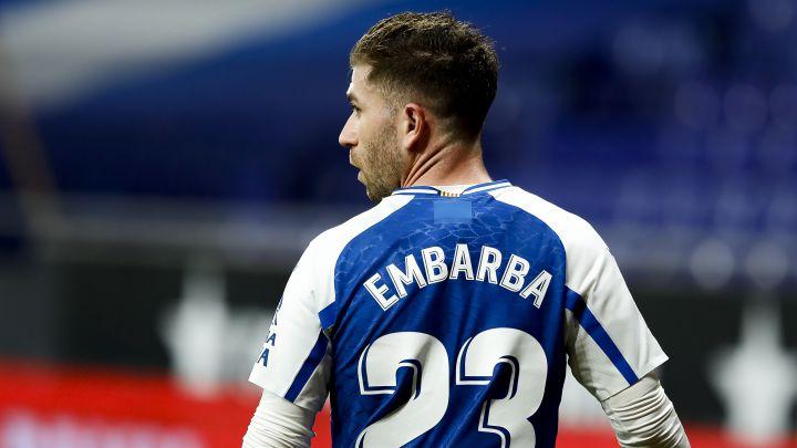 Adrián Embarba, jugador del Espanyol.