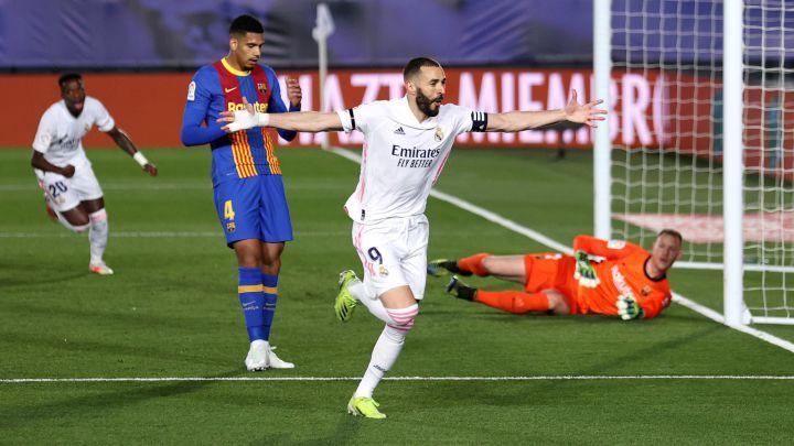 El Madrid se lleva el clásico y se queda a un punto del Atlético y con otro de ventaja sobre el Barça.