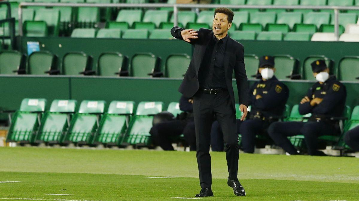 """Simeone: """"Me encanta este momento, es de resistencia"""""""