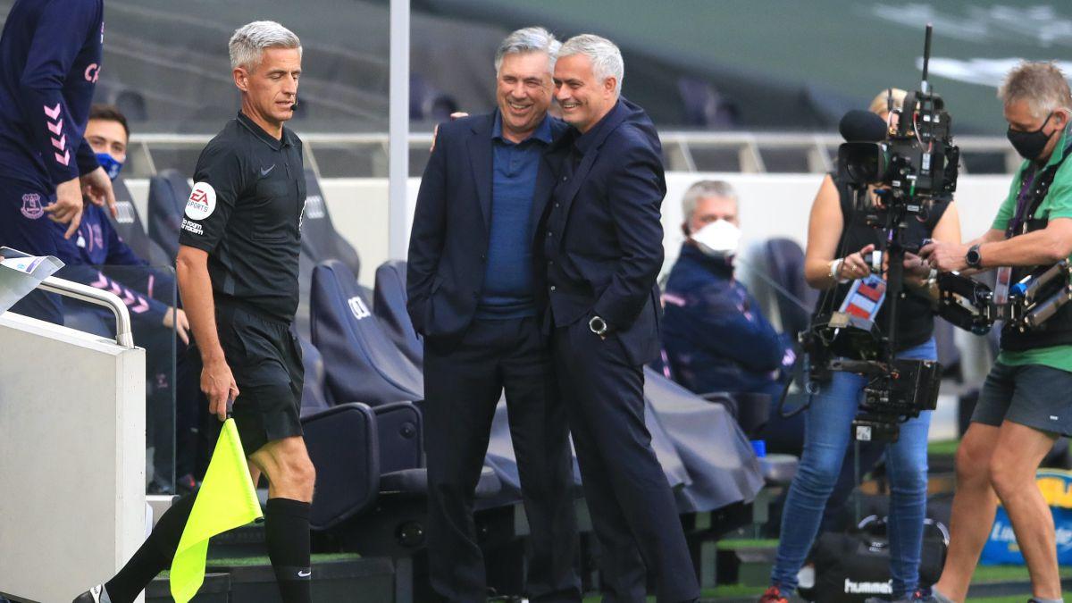 Ancelotti defiende a Mourinho