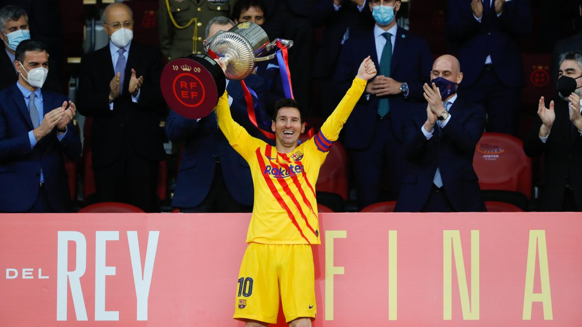 Messi, del burofax a La Cartuja