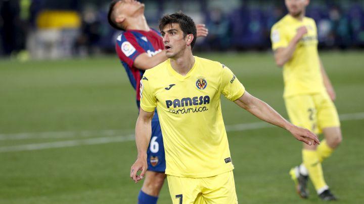 Gerard Moreno, a cinco goles de ser el rey del gol del Villarreal