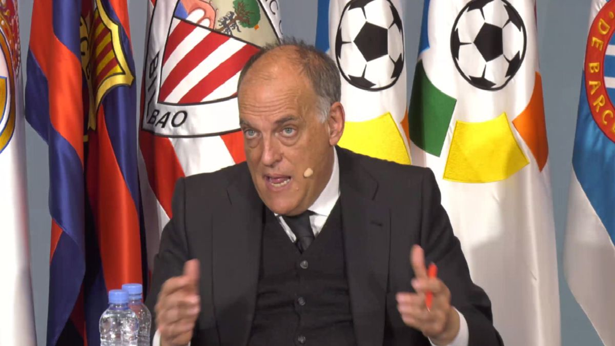 "Tebas: ""La Superliga era de Power Point; está muerta"""