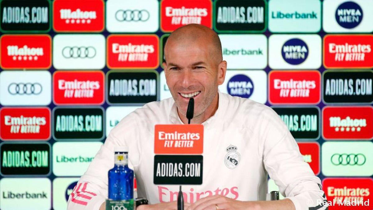 Zidane en directo: rueda de prensa previa al Real Madrid-Betis