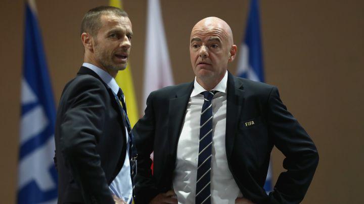 UEFA amenaza con boicotear el Mundial si se disputa cada dos años; Conmebol podría tener la misma postura