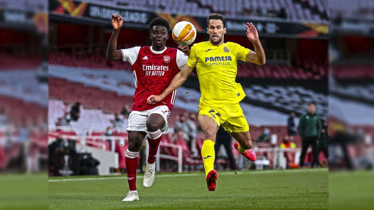 Arsenal-Villarreal en imágenes
