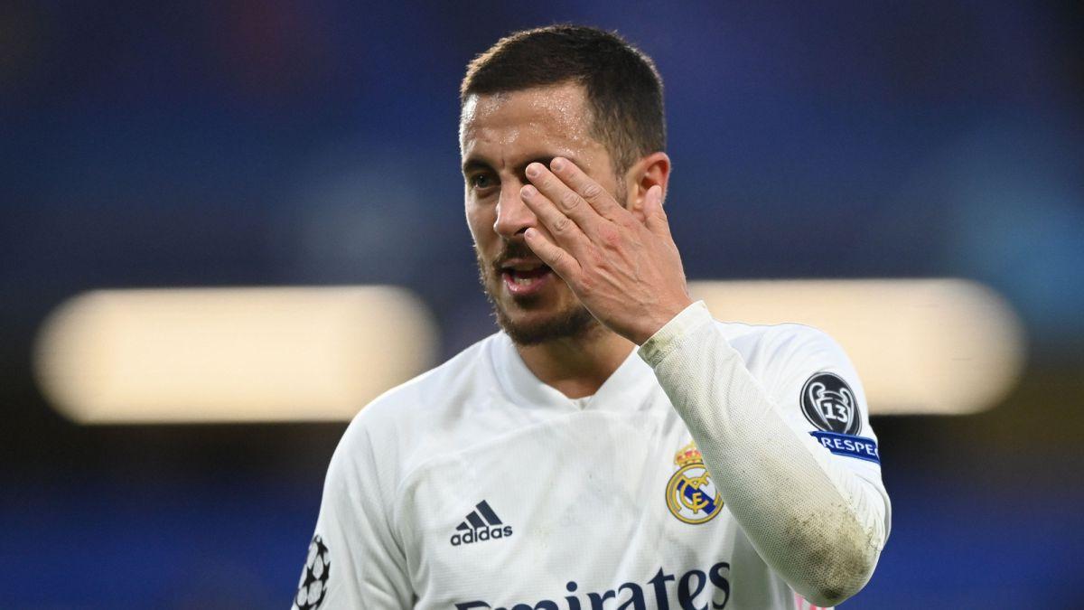 """Hazard: """"No era mi intención ofender a la afición"""""""