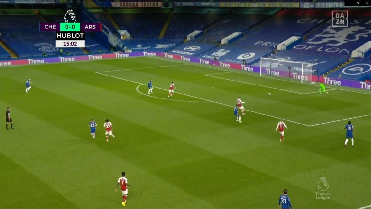 Pudo pasarles contra el Madrid y haberlo cambiado todo: el gol del Arsenal al Chelsea...