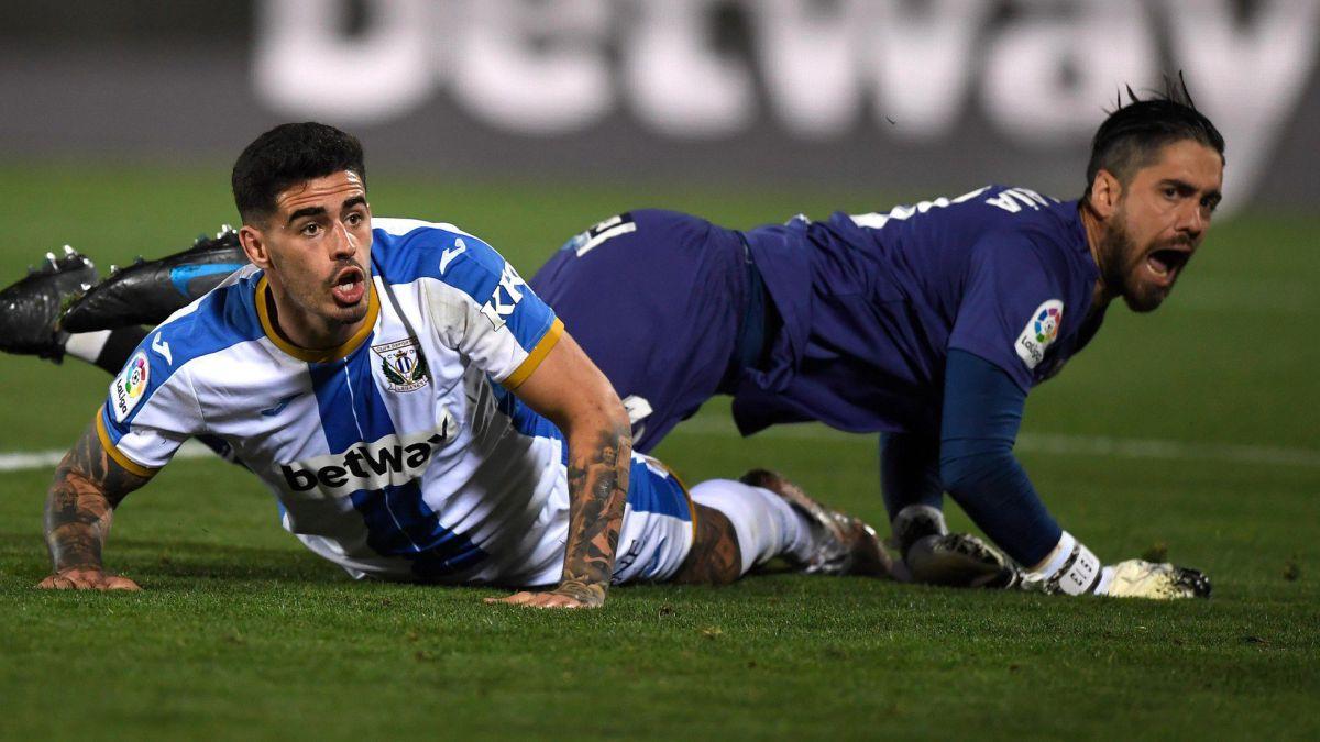 LEGANÉS | Miguel explota en gol en el momento justo para el Leganés - AS.com