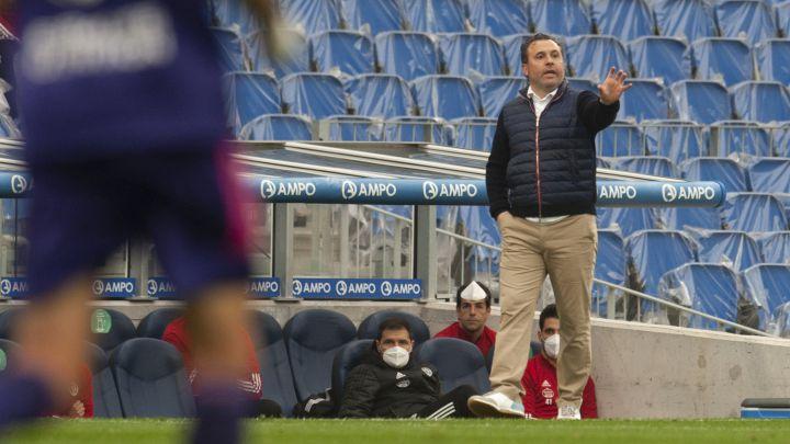 """Sergio: """"Hubiese preferido que hubiera público en Zorrilla"""""""