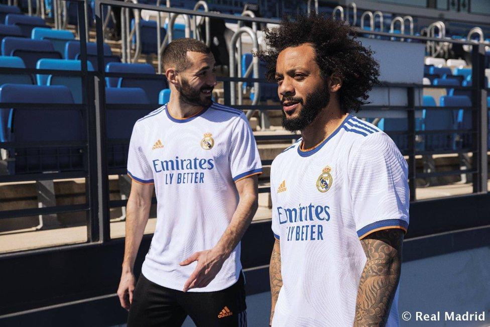Real Madrid 2021/22 Adidas home shirt