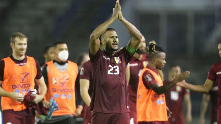 Rondón no jugaría la Copa América 2021