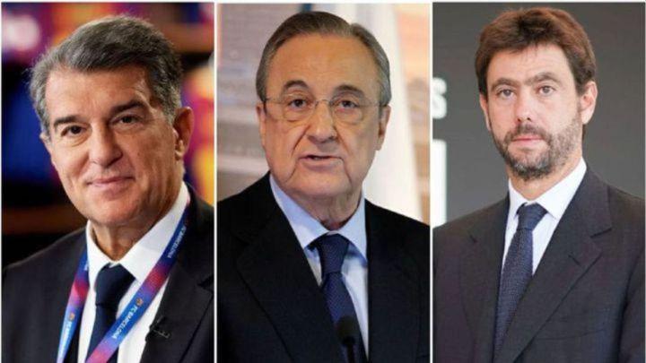 La UEFA para la euforia de que Madrid, Barça y Juventus jugarán la próxima Champions