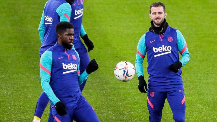 Barcelona buscaría dejar en libertad a Samuel Umtiti y Miralem Pjanic para renovar el contrato de Messi