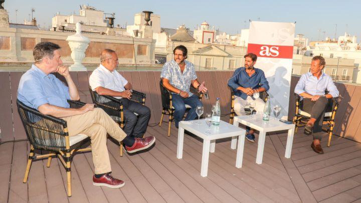Segurola, Relaño, Vicente Jiménez y Valdano
