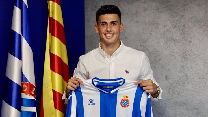 Rubén Sánchez, jugador del Espanyol.