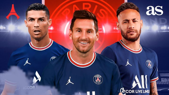 PSG 2022: Kylian Mbappé out, Cristiano Ronaldo in - AS.com