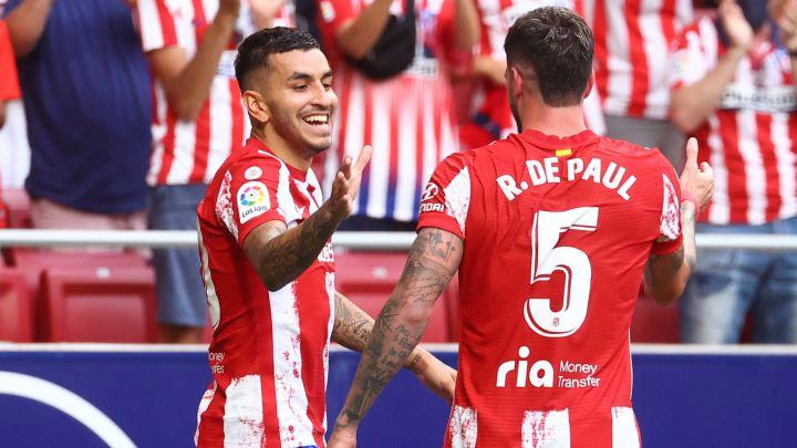 Ángel Correa y Rodrigo de Paul.