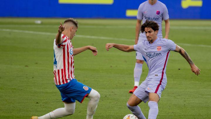 El Barça propondrá a Collado bajar al filial.