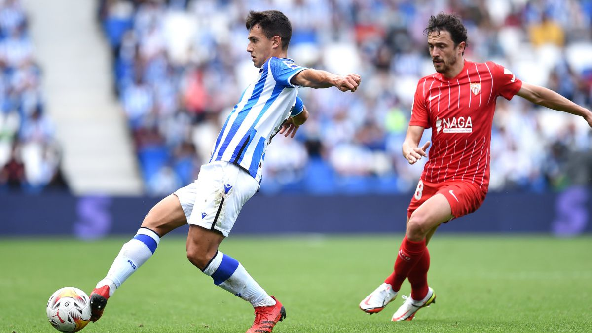 REAL SOCIEDAD 0-SEVILLA 0 | Bono stops a Real who ends up asking for the  time