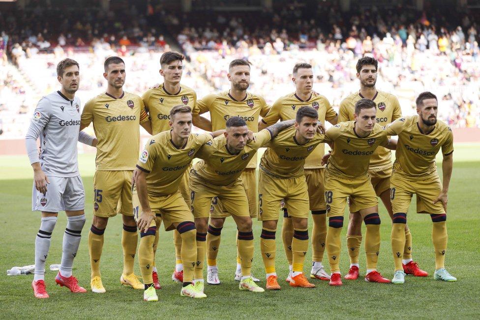 Once inicial del Atlético de Madrid