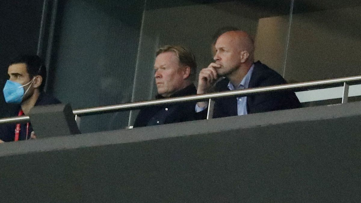 Jordi Cruyff frenó la destitución de Koeman