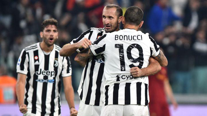 Chiellini y Bonucci.
