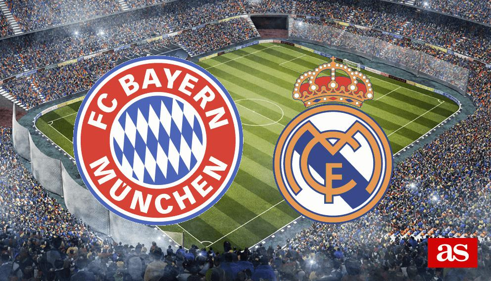 Bayern vs. Real Madrid live: Champions League 2016/2017 - AS.com