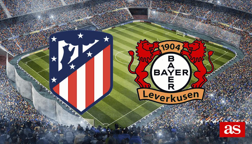 Atlético vs. Leverkusen live: Champions League 2016/2017 - AS.com