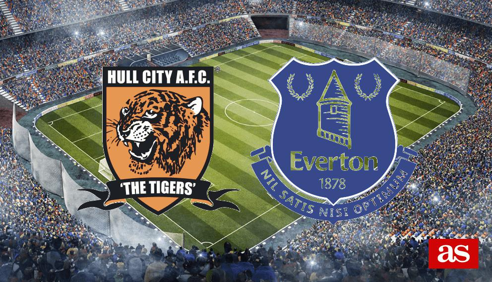 Hull City - Everton en vivo y en directo online: Premier League