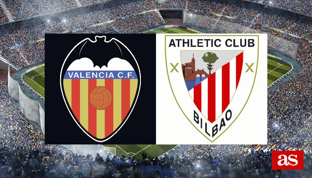 Valencia vs. Athletic live: LaLiga Santander 2016/2017 - AS.com